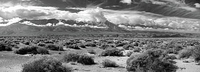 Death Valley Landscape, Panamint Range Art Print