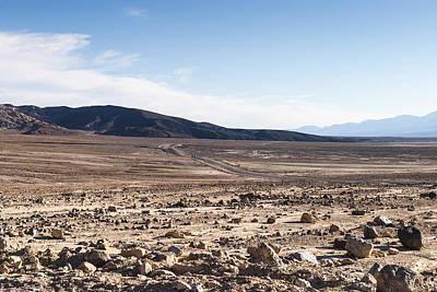 Death Valley Print by Muhie Kanawati