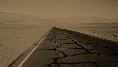Asphalt Digital Art - Death Valley by Patricia Januszkiewicz