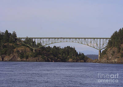 Photograph - Deception Pass Bridge by Mary Gaines