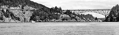 Photograph - Deception Pass Bridge by Tony Locke