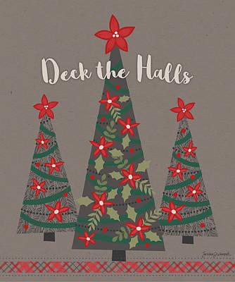 Deck The Halls Art Print by Jennifer L. Wambach