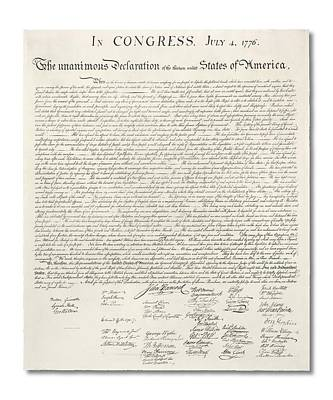 Declaration Of Independence Digital Art - Declaration Of Independence by Ron Hedges