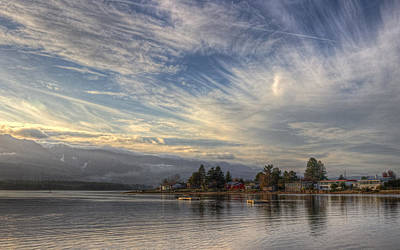 Photograph - Deep Bay by Randy Hall