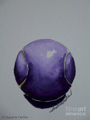 Painting - Deep Violet by Susan Herber