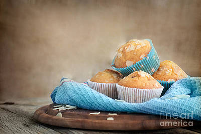 Mythja Photograph - Delicious Muffins by Mythja  Photography