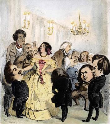 Delphine Gay De Girardin (1804-1855) Art Print
