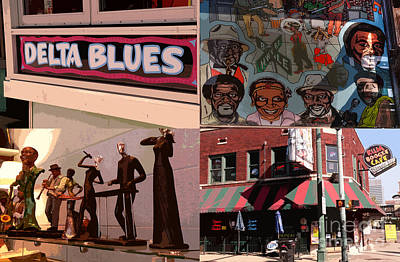 Photograph - Delta Blues by David Bearden