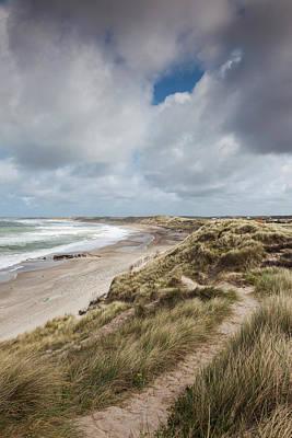 Windsurfing Photograph - Denmark, Jutland, Klitmoller by Walter Bibikow