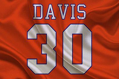 Terrell Photograph - Denver Broncos Terrell Davis by Joe Hamilton