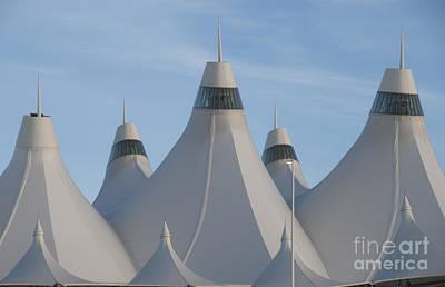 Airport Concourse Photograph - Denver International Airport by Juli Scalzi