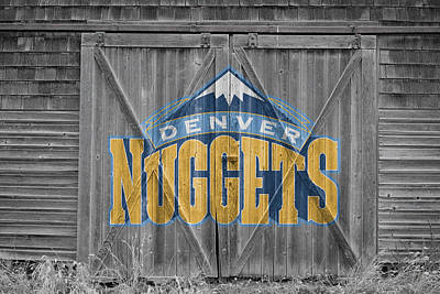 Denver Nuggets Art Print by Joe Hamilton