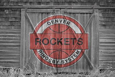 Denver Rockets Art Print by Joe Hamilton