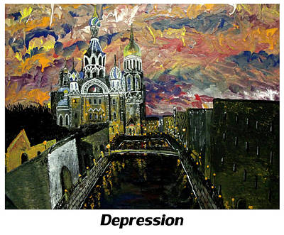 Cia Painting - Depression  by Mark Moore