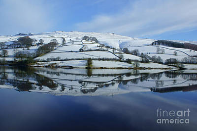 Photograph - Derwent Valley Reflections by David Birchall