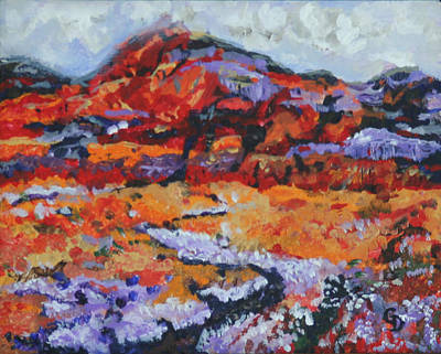 Painting - Desert Beauty by Gail Daley