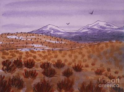 Painting - Desert Contrasts by Suzanne McKay