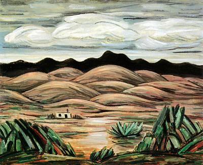 Animal Watercolors Juan Bosco - Desert Scene by Marsden Hartley