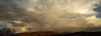 Clouds Photograph - Desert Storm by Chris Tarpening