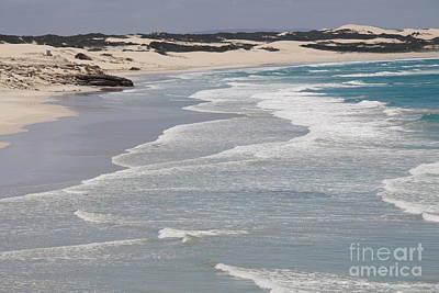 Arniston Photograph - Endless Beach by David Van der Merwe