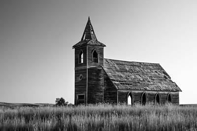 Old West Ghost Towns Photograph - Deserted Devotion by Todd Klassy