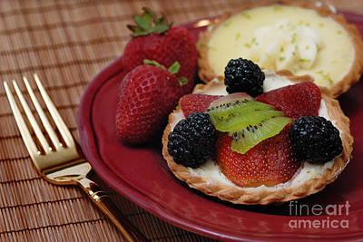 Dessert Tarts Art Print by Amy Cicconi