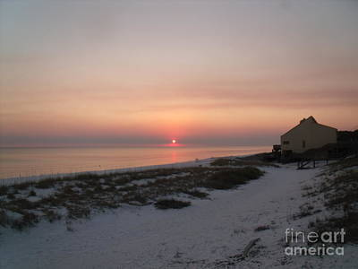 Painting - Destin Sunset by Craig Calabrese