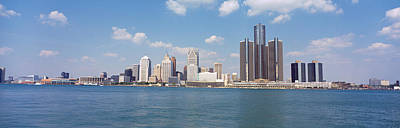 Wayne County Photograph - Detroit Mi Usa by Panoramic Images