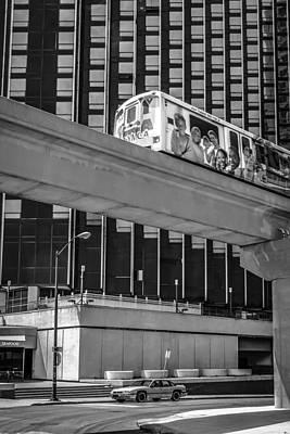 Detroit People Mover Original by Chris Smith