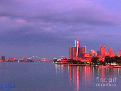 Detroit Skyline Original