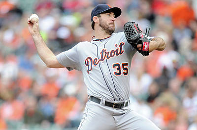 Photograph - Detroit Tigers V Baltimore Orioles by Greg Fiume