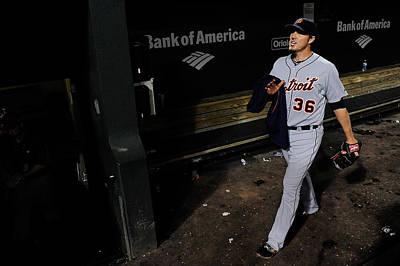 Photograph - Detroit Tigers V Baltimore Orioles by Patrick Mcdermott