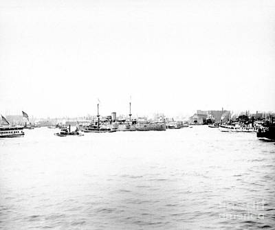 Photograph - Deweys Fleet by William Haggart
