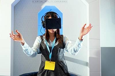 Diabetes Virtual Reality Demonstration Print by Dan Dunkley