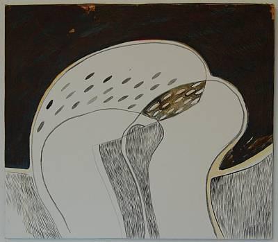 Dialoque II Art Print