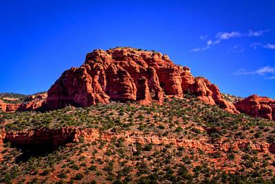 Arizona Photograph - Diamondback Gulch Near Sedona Arizona by David Patterson