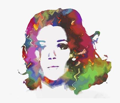 Peel Painting - Diana Rigg Alias Emma Peel by Steve K