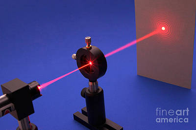 Aperture Photograph - Diffraction On Circular Aperture by GIPhotostock