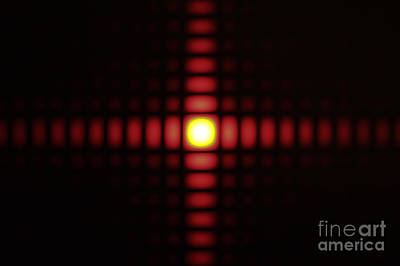 Aperture Photograph - Diffraction On Square Aperture by GIPhotoStock