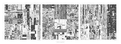 Digits Of Pi Phi And E In A 6 Level Treemap Art Print by Martin Krzywinski