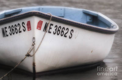 Row Boat Digital Art - Dinghy 2 by Jerry Fornarotto