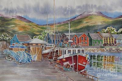 Painting - Dingle-harbour-ii by Nancy Newman