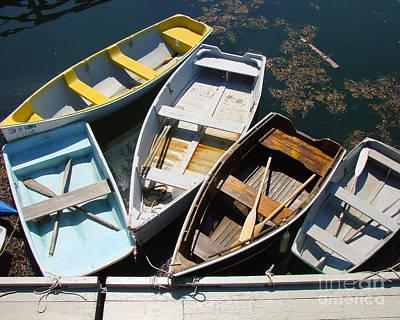 Blue Hues - Dingy boats by MyWildlifeLife Dot Com