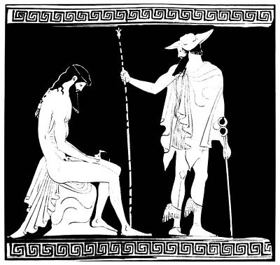 Iron Age Painting - Dionysus/bacchus by Granger