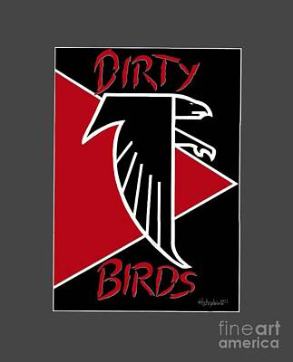Dirty Birds Art Print by Herb Strobino