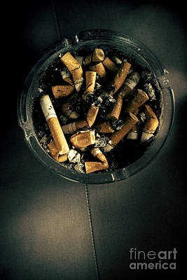 Nicotine Photograph - Dirty Habit by Jorgo Photography - Wall Art Gallery