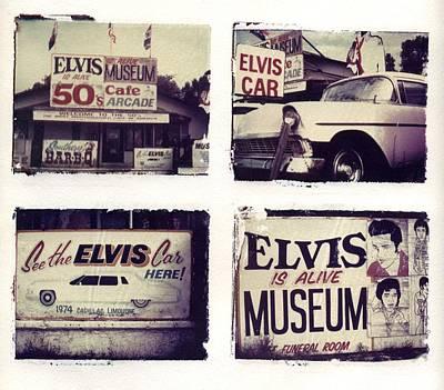 Elvis Presley Photograph - Disgraceland by Jane Linders