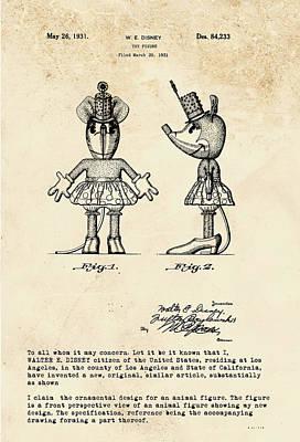 Digital Art - Disney Minnie Mouse by Marlene Watson