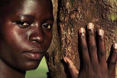 Displaced Ugandan Teenager Art Print