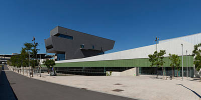 Barcelona Photograph - Disseny Hub Barcelona Design Museum by Panoramic Images